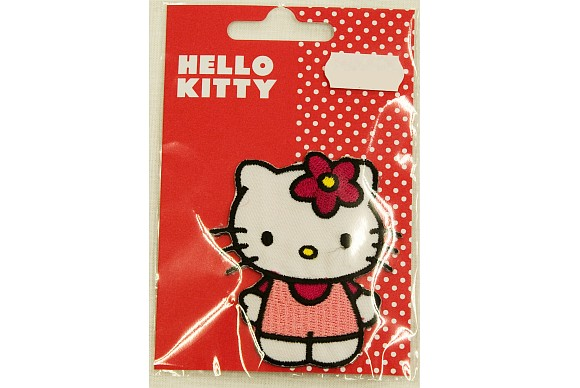 Hello Kitty standing, ironing patch 8 cm