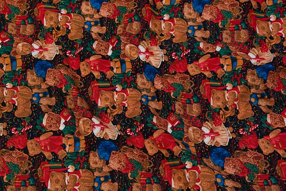 Christmas cotton with bears