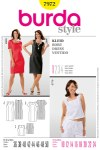Burda 7972. Dress and top.