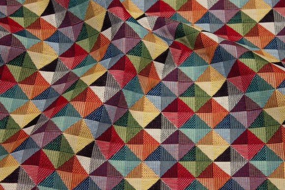 Furniture gobelin in beautiful multicolors