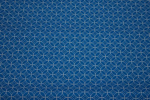 Dark turquoise linen-look in retrostil for pillows, cushions etc.