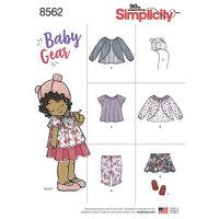 Simplicity 8562. Baby Gear.
