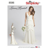 Gown with Train Option