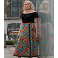 These easy-to-sew wrap skirts in women sizes 18W - 34W are designed by Ashley Nell Tipton. Skirts can be made in mini, knee and mid-calf lengths.