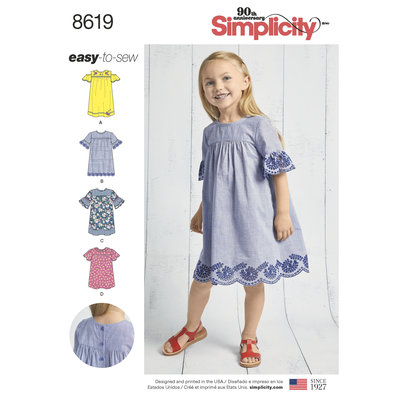 Childs Easy to Sew Dresses