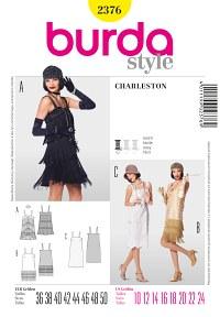 Burda pattern: Charleston dress with fringes
