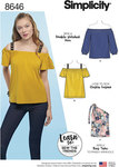 Simplicity 8646. Women's Knit Tops.