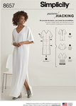 Simplicity 8657. Women's Caftan  with Options for Design Hacking.