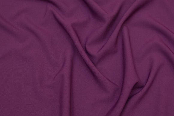Redish purple polyester in classic quality