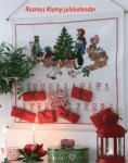 Wall mounting for Permin christmas gift calendars 50 cm wide