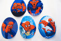 Spiderman patch 9x7cm.