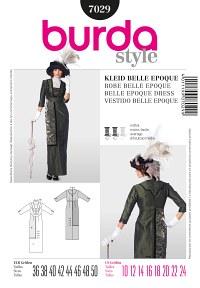 Dress – Belle Epoque – Hobble Skirt. Burda 7029.
