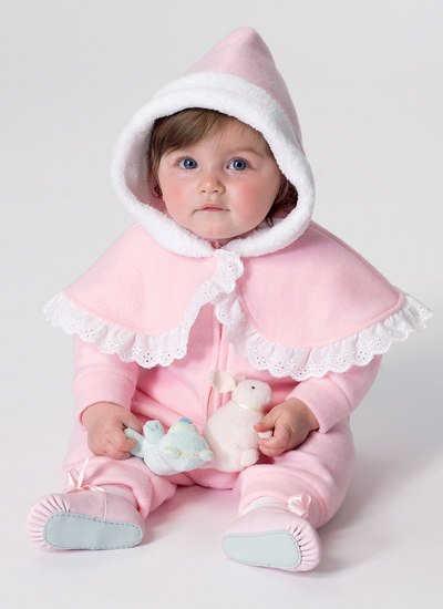 Infants Cape, Vest, Buntings and Pull-On Pants