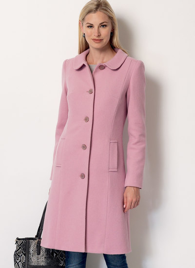 Funnel-Neck, Peter Pan or Pointed Collar Coats
