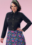 Butterick 6390. Button-Down Jacket with Bust Pockets.