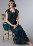 Drop-Waist Dress with Oversized Bow