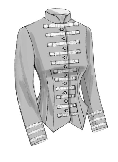 Boned, Back-Pleat Jackets