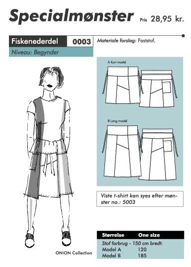 Slack baggy skirt