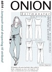 Onion 6014. Jump suit for stretch fabrics.