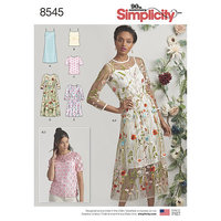 Dress and top. Simplicity 8545.