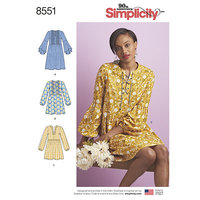 Dress or Tunic. Simplicity 8551.
