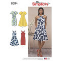 Simplicity 8594. Dresses.