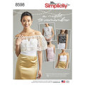 Simplicity 8598. Special Occasion Tops.