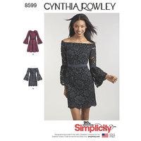 Cynthia Rowley Dresses. Simplicity 8599.