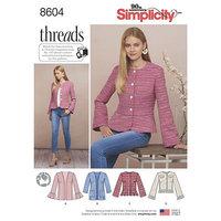 Jacket. Simplicity 8604.