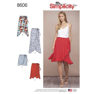 Wrap Skirt in Four Lengths