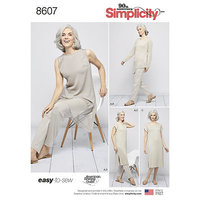 Easy to Sew Sportswear. Simplicity 8607.