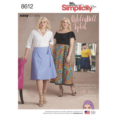 Easy Wrap Skirts by Ashley Nell Tipton