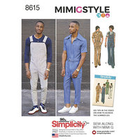 Vintage Jumpsuit and Overalls. Simplicity 8615.