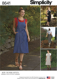 Women´s Jumper Dress. Simplicity 8641.