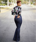 Mimi G high waisted pant with optional slim or bell bottom. Pattern also includes summer ready tie front blouse.