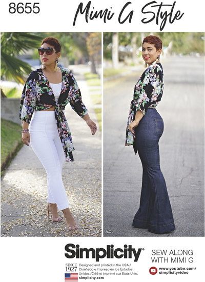 High Waisted Trousers and Tie Top - Mimi G