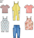 Toddlers´ Knit Top, Trousers, Jumper and Overalls