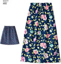 Dresses for girls and dolls
