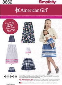Dresses for girls and dolls. Simplicity 8662.