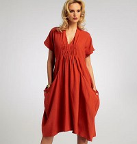 Dress - Marcy Tilton. Vogue 8813.