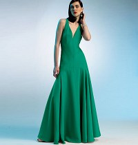 Dress - Custom Fit. Vogue 8814.