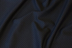Black heavy-jersey with mini-squares