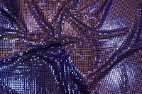 Blue/purple glimmer fabric with see-through base