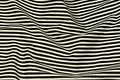 Twill woven cotton fabric with black and white stripes.  We have two stripe widths, 0,5cm & 2cm