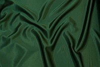 Crepe sateen in bottle green