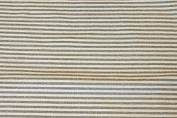 Narrow-striped, recycled cotton in grey and off white