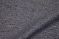 Ruggedly woven furniture fabric in medium-grey