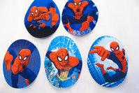 Spiderman patch 9x7cm