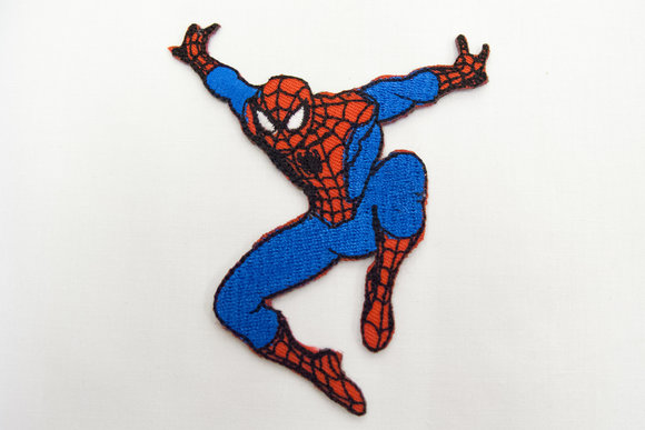 Spiderman patch 9x7cm