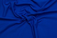 Stretch jersey in classic quality in cobolt blue